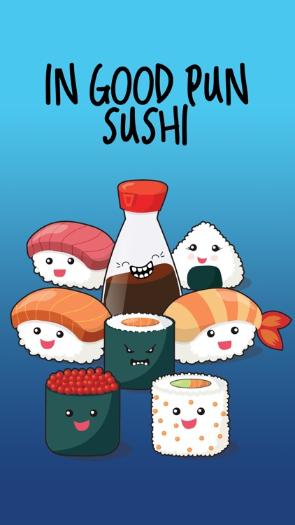 In Good Pun Sushi