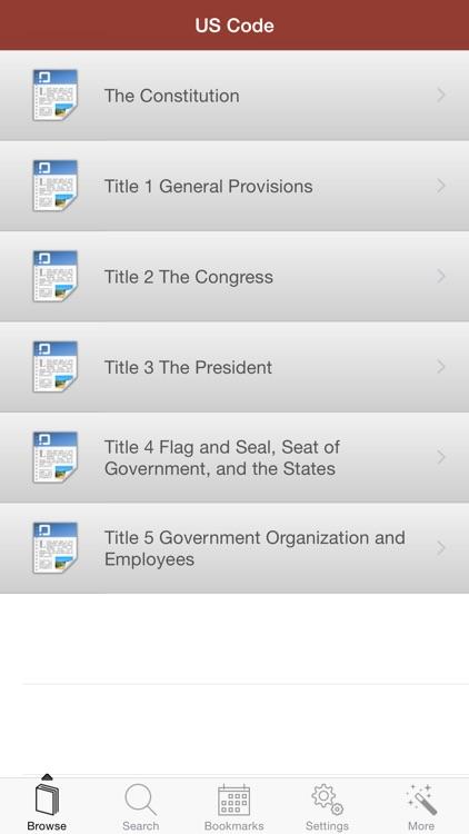 US Code of Federal Regulations screenshot-3
