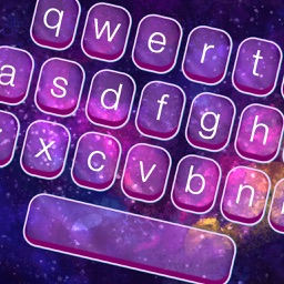 Galaxy Keyboard Skins – Glow.ing Space Themes and Color.ful Text Fonts for iPhone Free