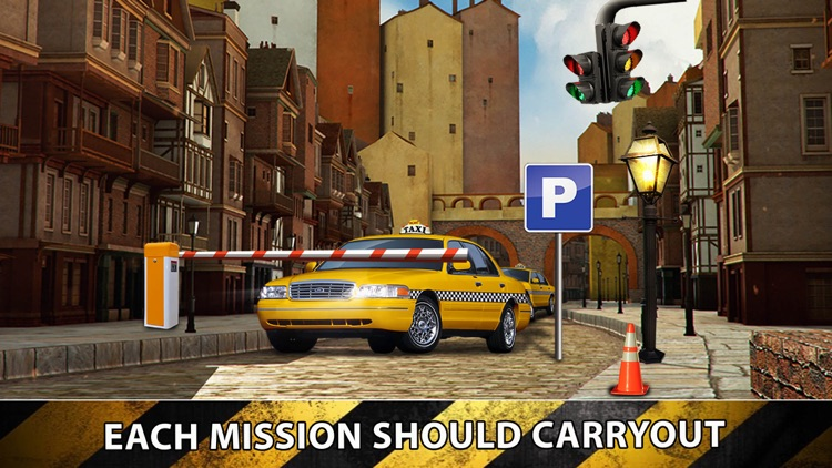 Taxi Cab Driver 2016 - Yellow Car Parking in New York City Traffic Simulator