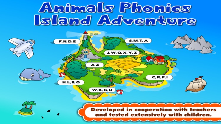 Phonics Island • Letter Sounds