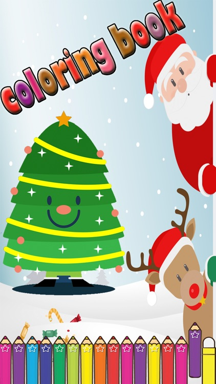 Christmas Coloring Games for kid by Nuttapong Tongrungsri