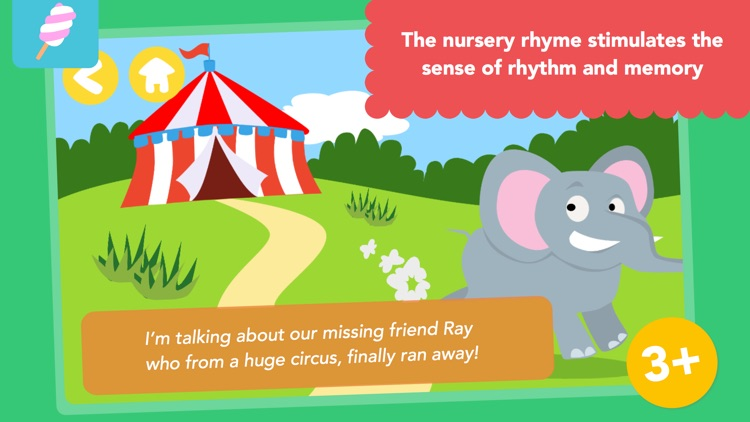 Math Tales - The Jungle: Rhymes and maths for kids screenshot-3