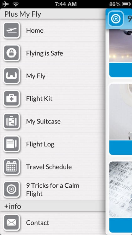 My Fly: To stop anxiety & fear of flying screenshot-3