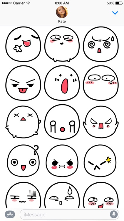 Kawaii Buns stickers screenshot-3