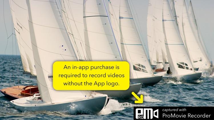 ProMovie Recorder - 4K Video Camera+Manual Control screenshot-4