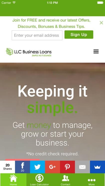 LLC Business Loans