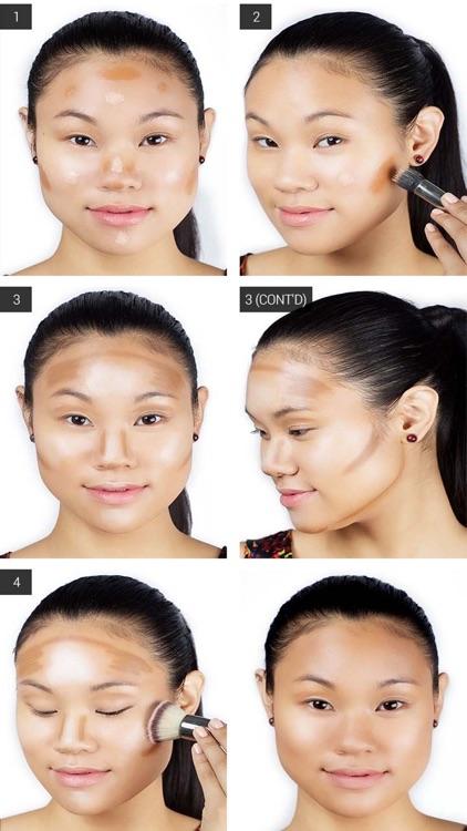 Contour Makeup - Contouring Guidelines screenshot-4