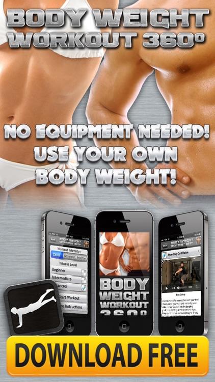 Bodyweight Crunch & Push Ups Bodybuilding Routine screenshot-4