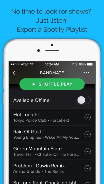 BandMate: Concert Tipster screenshot-4