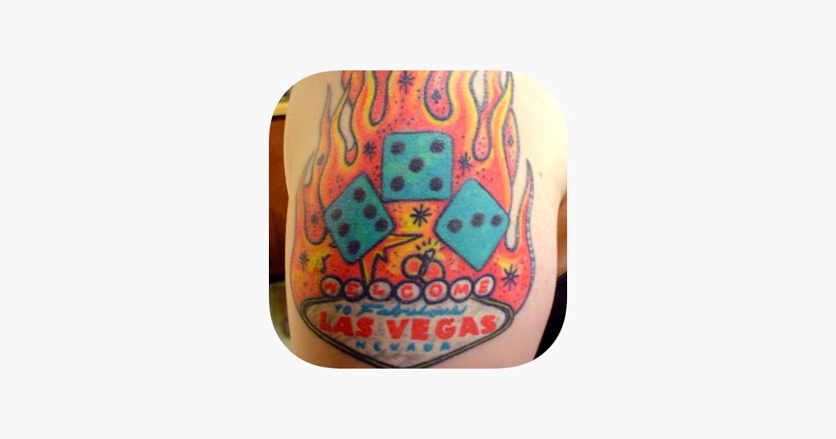 app store vegas tattoo designs hd las vegas style tattoos. Black Bedroom Furniture Sets. Home Design Ideas