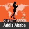Addis Abeba mapa offline y guía de viaje