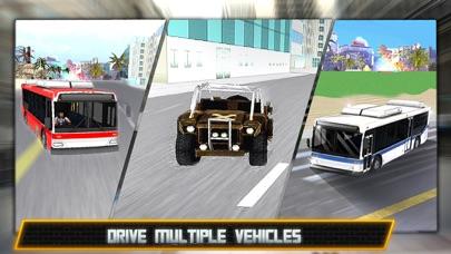 极度疯狂的犯罪市内公交车司机3D模拟器 App 截图