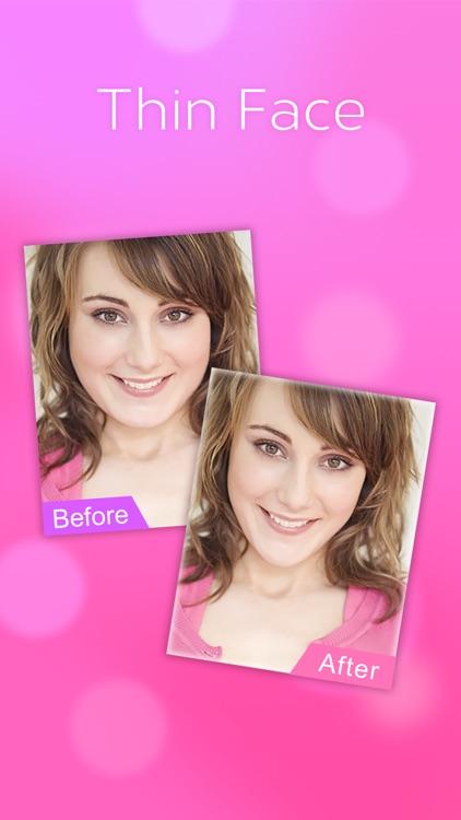 Slim & Skinny - Thin Face Photo Effects Chin Edit