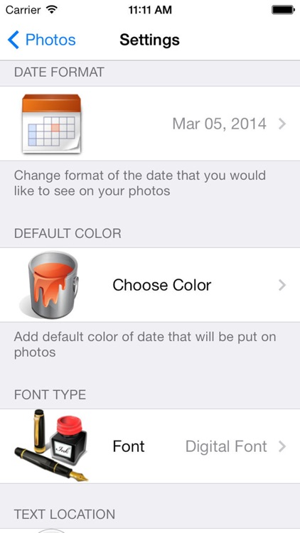 Photo Date & Photo Time Stamp Cam - Add Date & Timestamp to One or All Photos screenshot-4