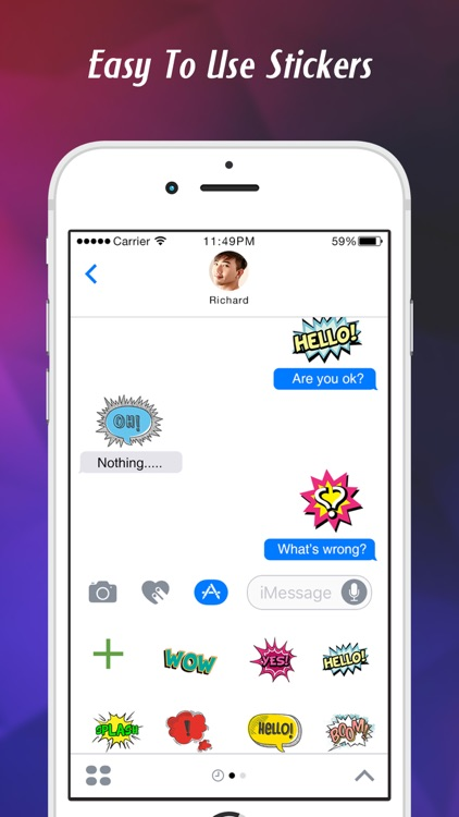 Stickers for iMessage & texts screenshot-3