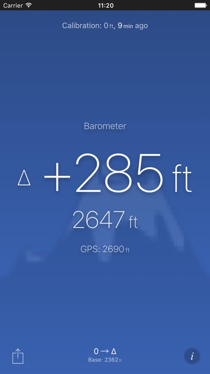 Altimeter (Barometer) screenshot-2