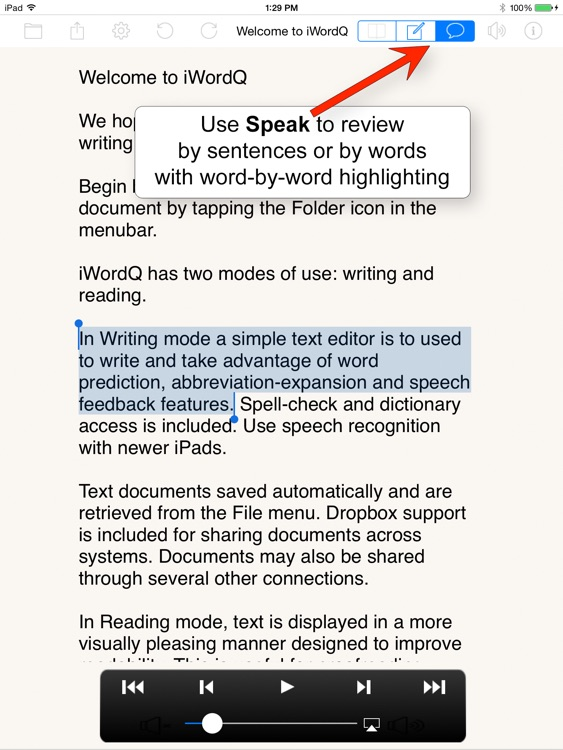 iWordQ CA screenshot-1
