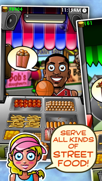 Street-food Tycoon Chef Fever: World Cook-ing Star screenshot-1