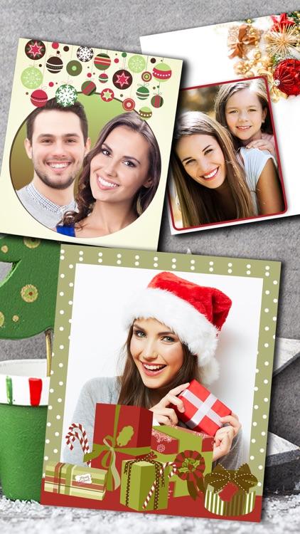 Christmas Photo Frames Album & Collage 2016 screenshot-3