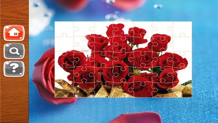 Flower Jigsaw Puzzle Free screenshot-4