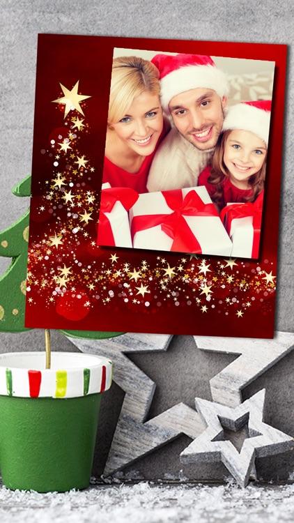 Christmas Photo Frames Album & Collage 2016 screenshot-4