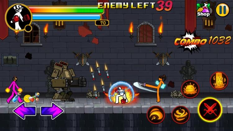 Fun Combat - Free Fighting Game screenshot-3