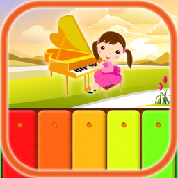 Kids Music: Piano, Xylophone, Violin and Guitar