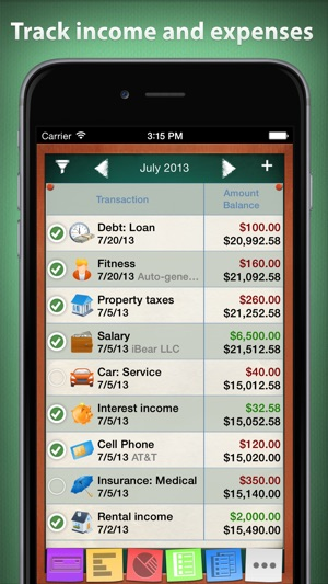 checkbook hd personal finance on the app store