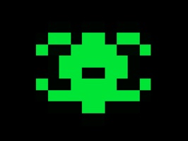 Enjoy this these fun animated retro invader characters from Galaxoid: A Retro Space Shooter game