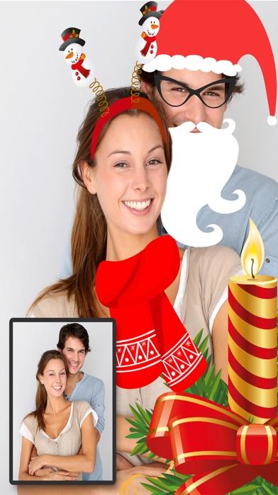 Navidad Snap filtros  – fotoeditor caras navideñasCaptura de pantalla de4