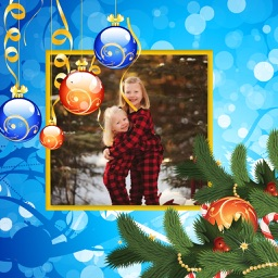 Creative Xmas Photo Frame - Picture Editor