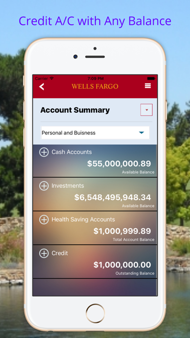 Fake Bank Account Pro | App Price Drops