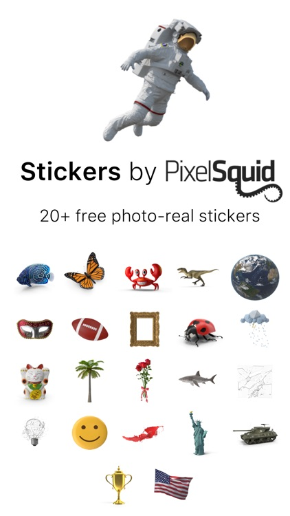 Stickers by PixelSquid