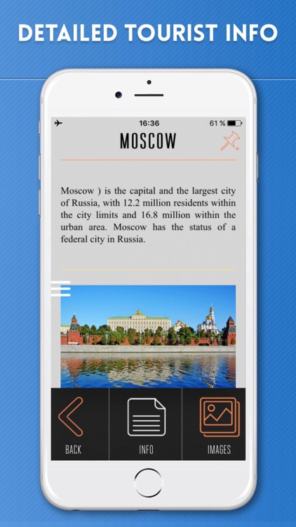Russia Travel Guide and Offline Street Map