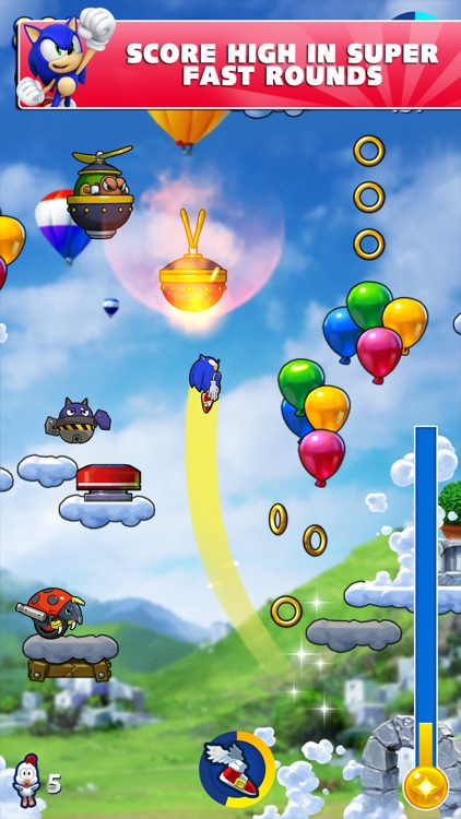 Sonic Jump Fever screenshot-2