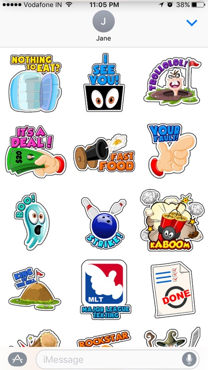Toon Stickers screenshot-3