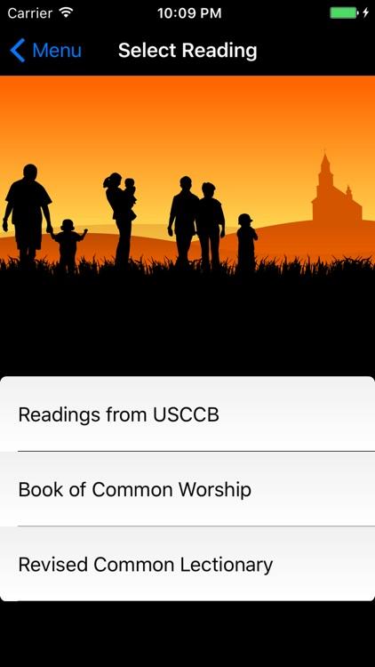 Mass Reading Lectionary & Prayers Collection screenshot-4
