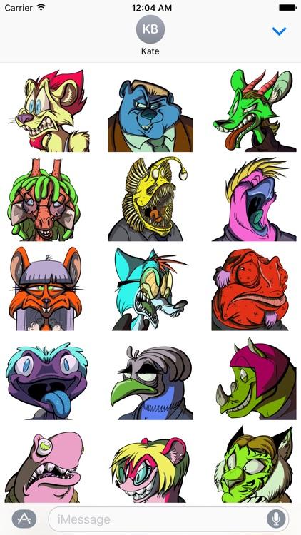 Rainbow Zoobers