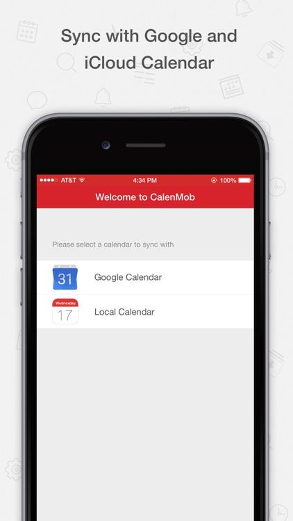 Tiny Calendar Pro - Sync with Google Calendar app image