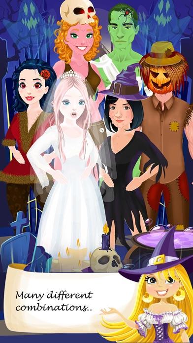Halloween Salon Spa Makeover Doctor Game Screenshot on iOS