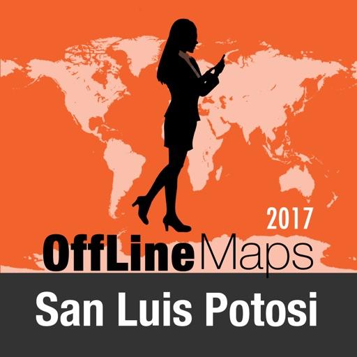 San Luis Potosi mapa offline y guía de viaje