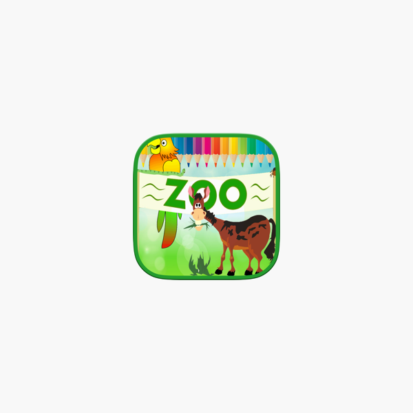 Animales Zoo Kids Coloring Book en App Store