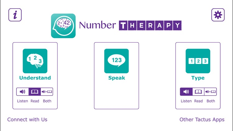 Number Therapy - Speech Practice for Aphasia screenshot-0