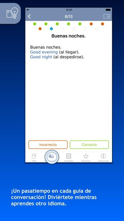 Guías de conversación VOX para viajar screenshot-4