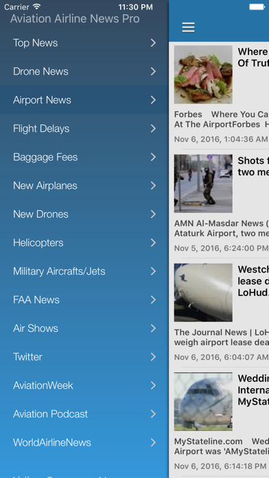 Aviation Airline News Pro - Airplane & Drone News screenshot two