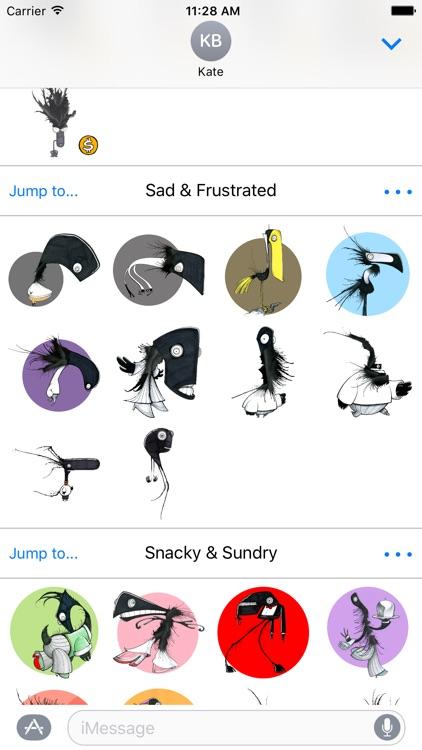Daily Monster® Sticker Pack screenshot-3