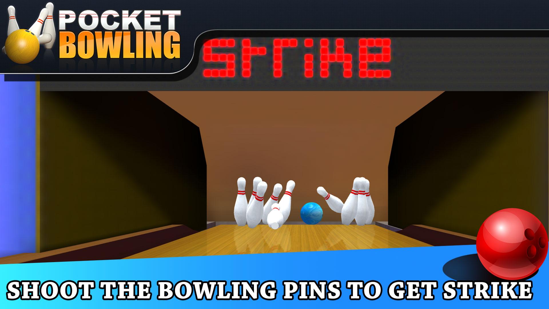 Pocket Bowling 3D for TV screenshot 4