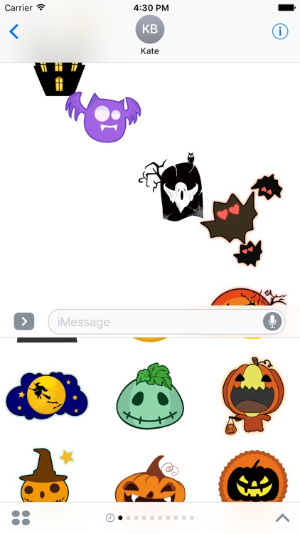 Let's Halloween - Make a funny Halloween chat! screenshot-3