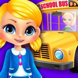 Mia goes to School - Preschool Salon & Kids Games